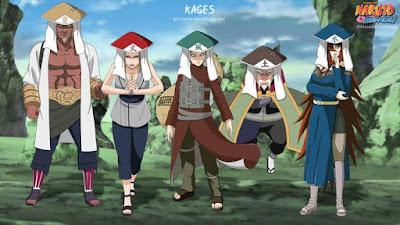 Lima Kage Anime Naruto