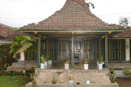 Rumah Adat Jawa Tengah Beserta Gambarnya ( Rumah Kampung )