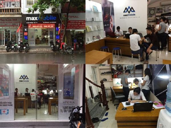 Trung tâm MaxMobile nhận sửa chữa thiết bị di động