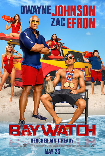 Poster of Baywatch 2017 UnRated 720p BluRay Dual Audio [Hindi-English] With ESubs
