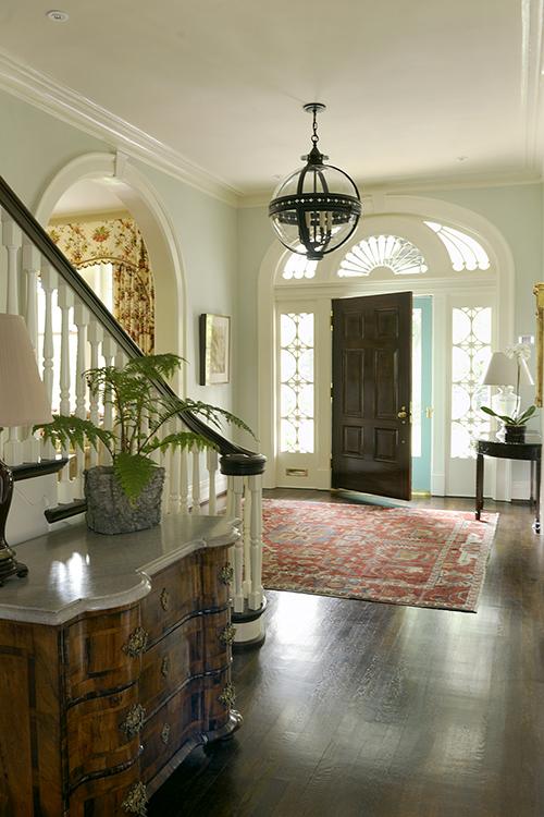 Elegant Foyer Quiz : Elegant kentucky charm by matthew carter interiors the