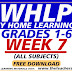 Week 7 WHLP Grades 1-6 All Subject Areas Q1