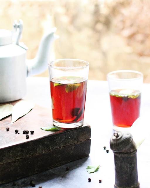 Nali Cha (ନାଲି ଚାହା) - A healthy concoction