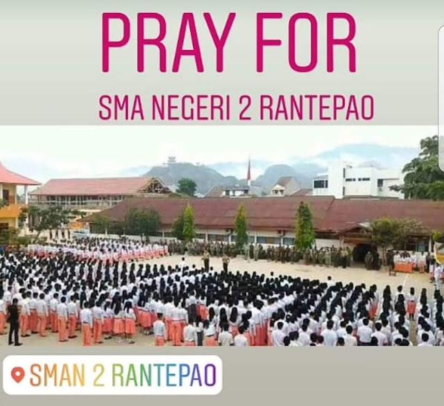 SMA 2 Rantepao Akan Digusur, Para Alumni Akan Lakukan Ini