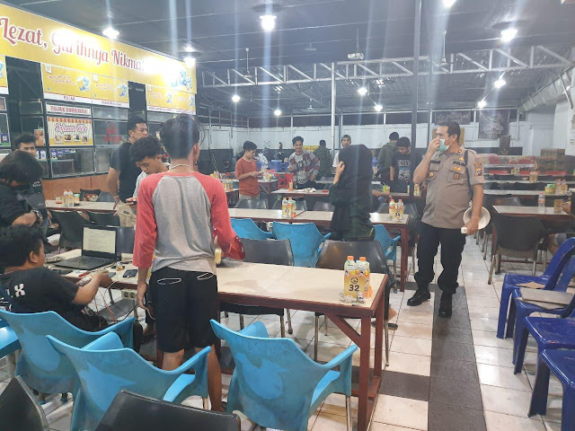 Pardamean Hutahena Imbau Warga Medan Helvetia Kurangi Aktifitas Malam Hari dan Bergerombol