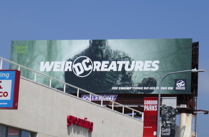 Swamp Thing DC Universe Weird Creatures billboard