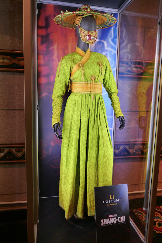 Shang-Chi Ten Rings Li movie costume