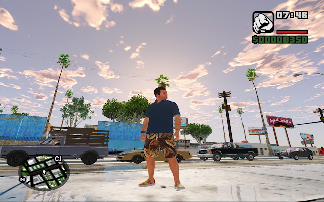 GTA San Andreas GTA 5 Graphics Mod Pack Version 3