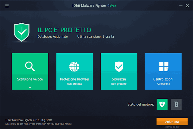 IObit Malware Fighter 4