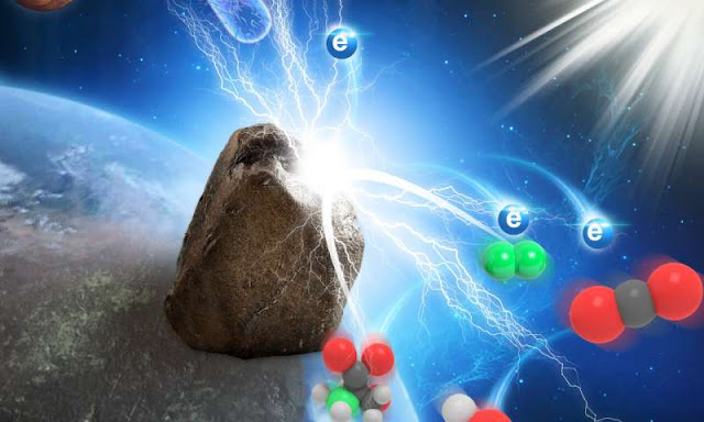 Discovered rocks that generate electricity in the sunlight