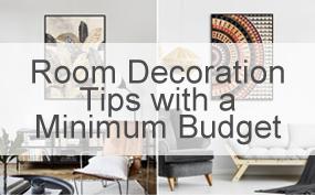 Livingroom Decoration Tips with a Minimum Budget