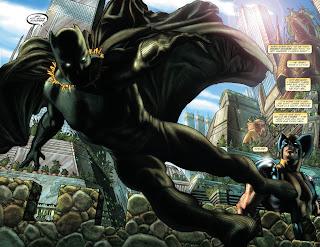 Evolusi Kostum Black Panther
