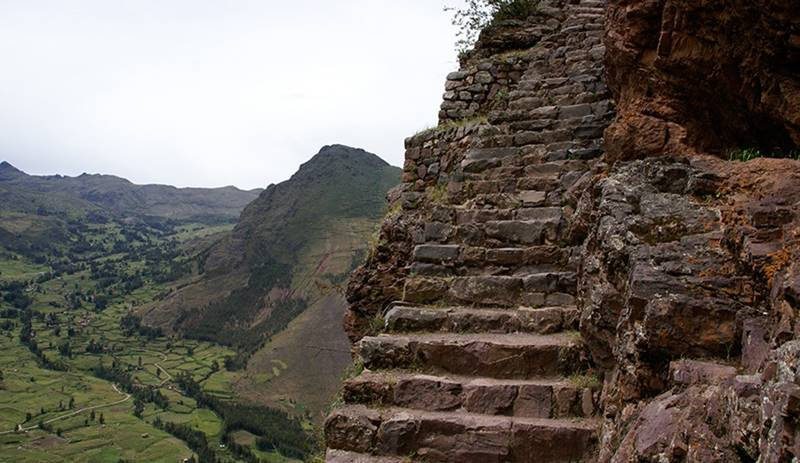 Stairs or Steps of the Incas, Peru