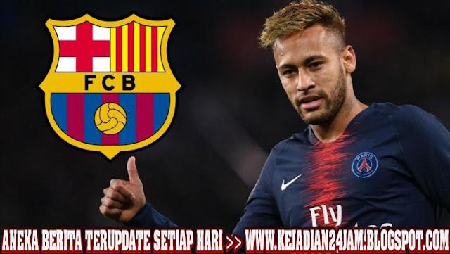 Skuat Barcelona Rela Potong Gaji Demi Neymar