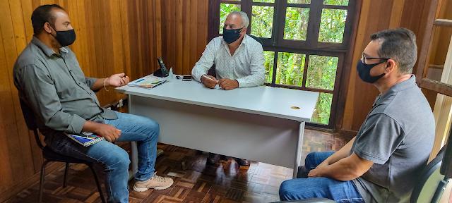 Vereador Vagner da Viação visita Secretária de Meio Ambiente para solicitar melhorias no Parque Embu