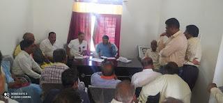 मंत्री रामकिशोर नानो कावरे ने परसवाड़ा एवं लामता मंडल के भाजपा कार्यकर्ताओं की ली बैठक