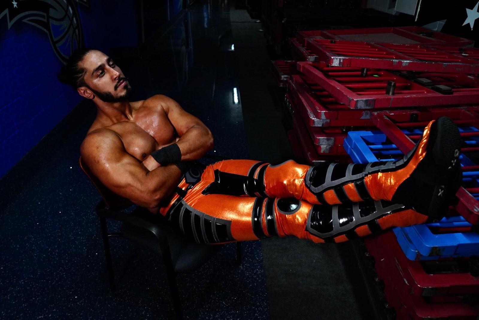 Mustafa Ali está frustrado por não ser utilizado no RAW