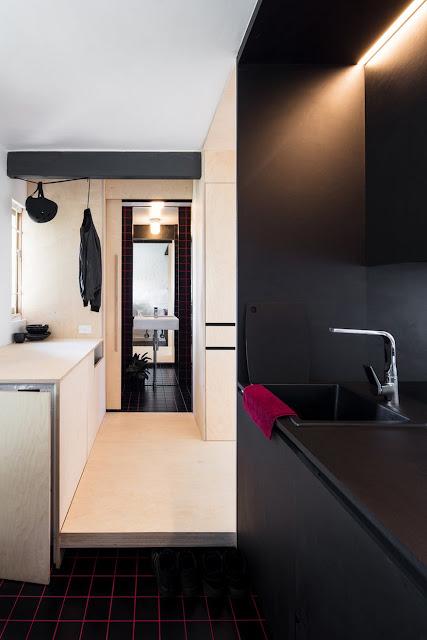 Tuyệt đỉnh với thiết kế nội thất căn hộ 28m2