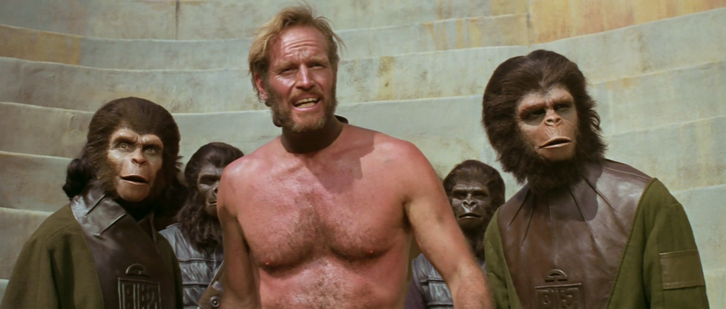 "an examination of the film planet of the apes Author eric greene, who penned a book in the late 1990s examining how the film franchise addresses and critiques racism, says while the ""planet of the apes"" movies can be seen as an allegory."