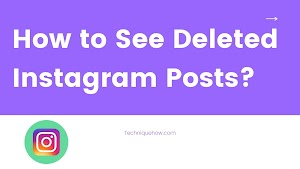 How to See Deleted Instagram Posts & Recover?