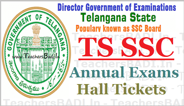 TS SSC hall tickets,10th class hall tickets,SSC 2017 hall tickets