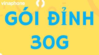 Đỉnh 30G, Gói D30G  Vinaphone