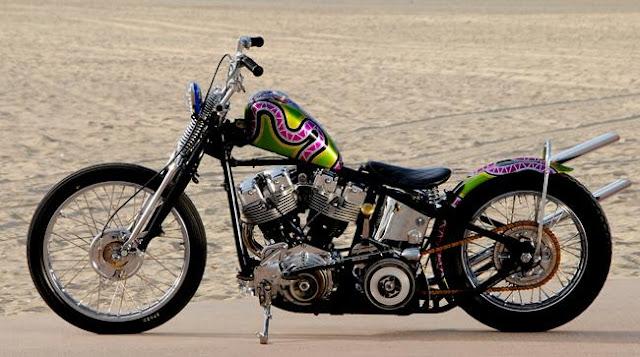 Harley Davidson Shovelhead 1973 By Cycle Zombies Hell Kustom