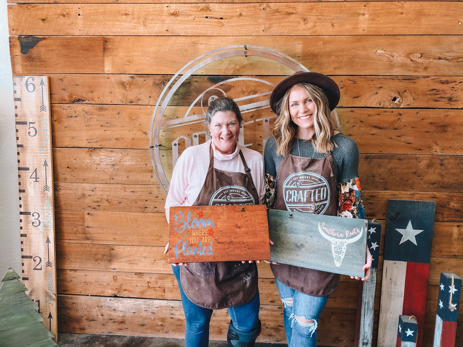 lifestyle and travel blogger Amanda Martin spent a morning at Crafted in Frisco, Texas, with her mom