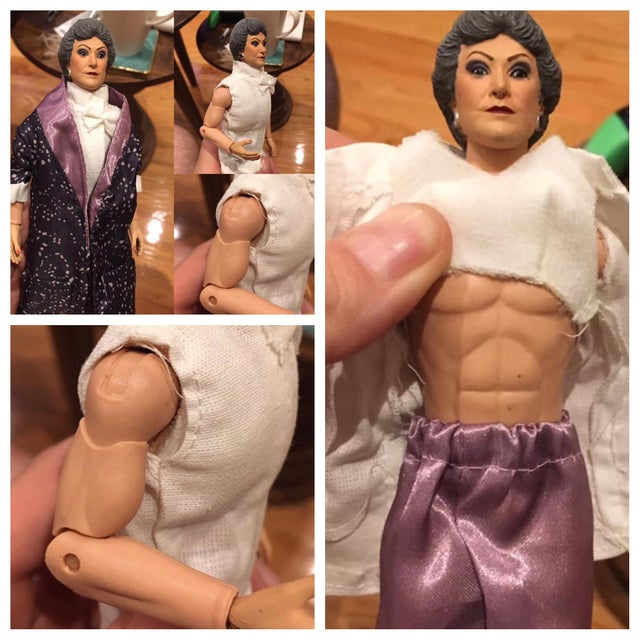 Who knew Bea Arthur was so ripped