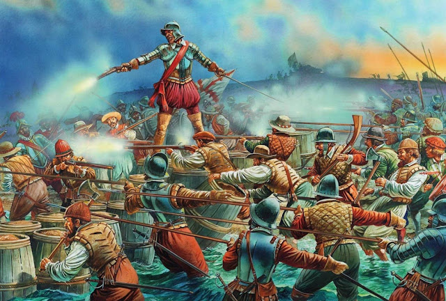 raid on st augustine by francis drake