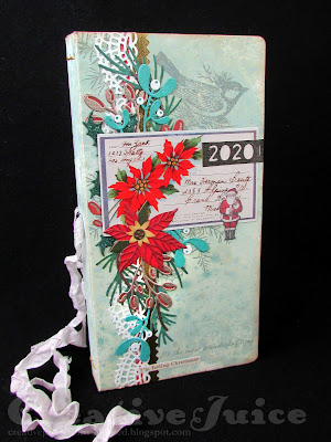 Lisa Hoel for Eileen Hull - Comfort and Joy Christmas Journaling event 2020