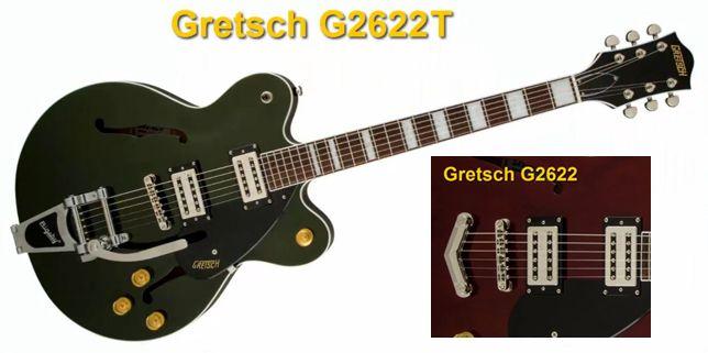 Gretsch G2622T con Vibrati Bigsby y Puente Fijo
