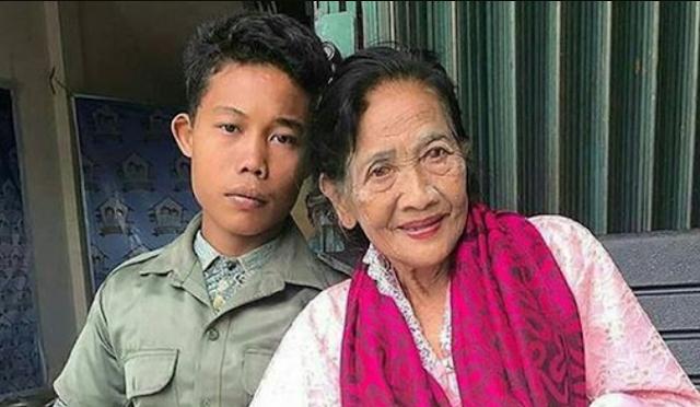 nenek nikahi pemuda di pati