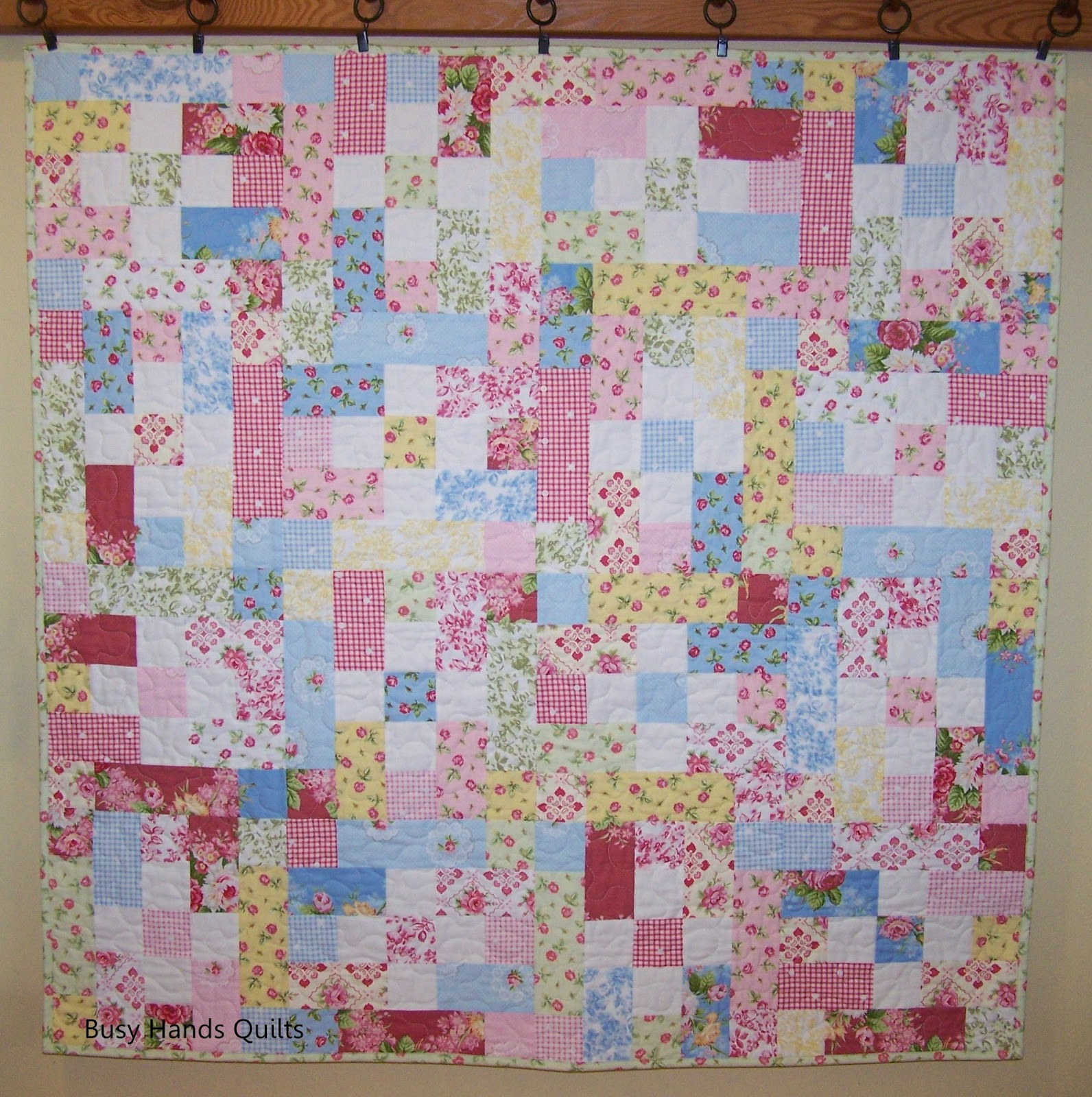 Baby Quilts.com Busy Hands Quilts Sweet Hill Farm Baby Quilt A Finish