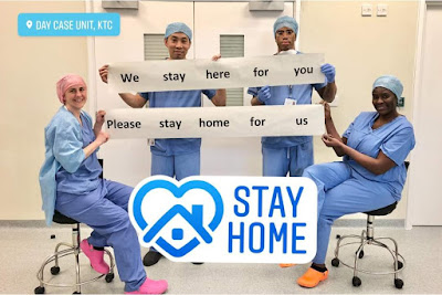 Stay home NHS Derby