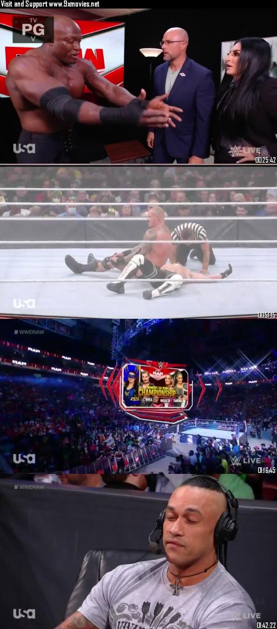 WWE Monday Night Raw 20 September 2021 HDTV 720p 480p 500MB