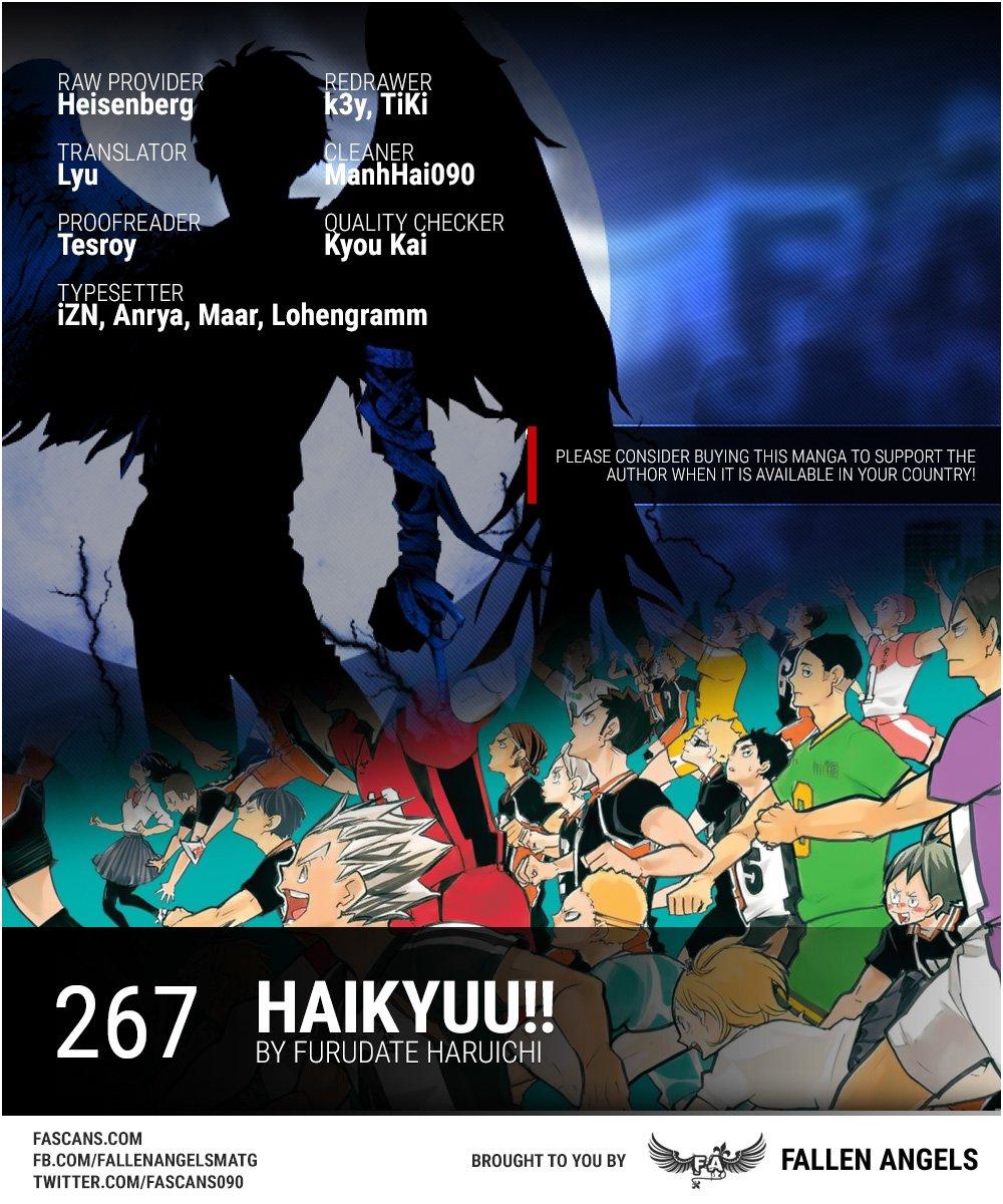 Haikyuu Chapter 267-1