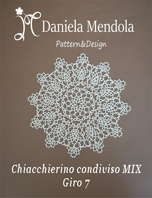 Tatting sharing MIX: round 7 - Chiacchierino condiviso MIX: giro 7