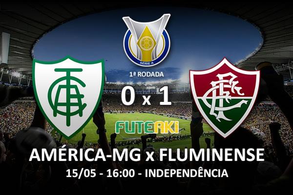 Veja o resumo da partida com o gol e os melhores momentos de América-MG 0x1 Fluminense pela 1ª rodada do Brasileirão 2016.