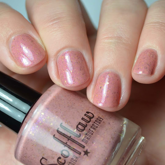 salmon creme nail polish