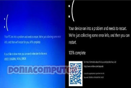 windows 11,windows 10,windows,microsoft شاشة الموت لزرقاء,شاشة الموت السوداء في ويندوز 11