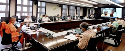 राज्य सरकार की 'ट्रेस, टेस्ट एण्ड ट्रीट' की नीति से प्रदेश में कोविड संक्रमण के मामलों में आशानुकूल तेजी से कमी आयी : मुख्यमंत्री योगी