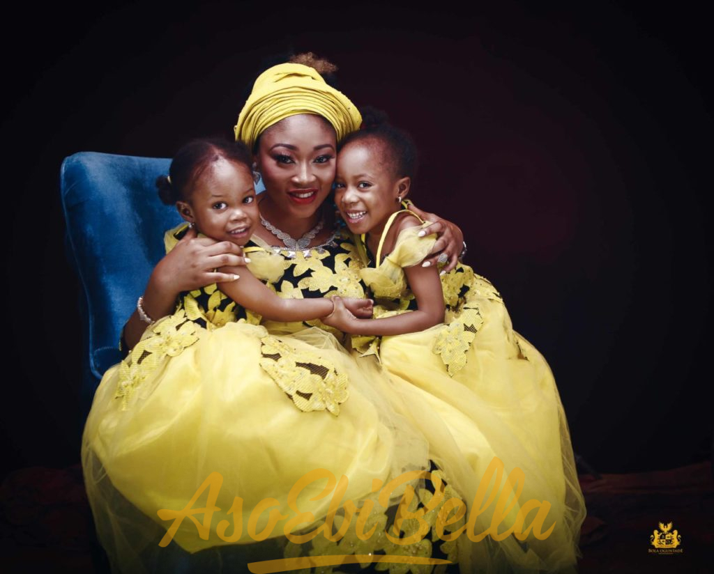#EbFabLook Vol 46 A: Try This New Aso-Ebi Bella Style For Your Kids.