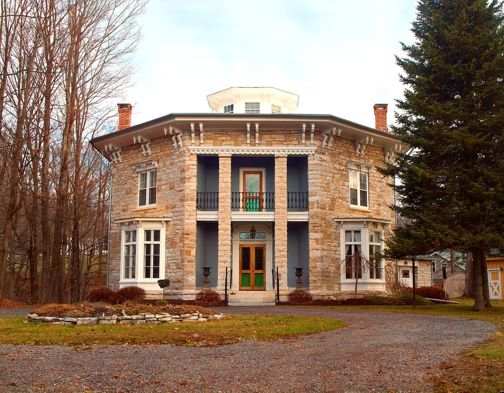 Yale-Cady Octagon House in in Newport, New York