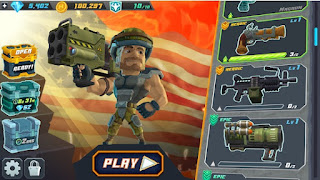Free Download Major Mayhem 2 - Gun Shooting Action v1.131 Mod Apk (Unlimited Money) Terbaru 2019