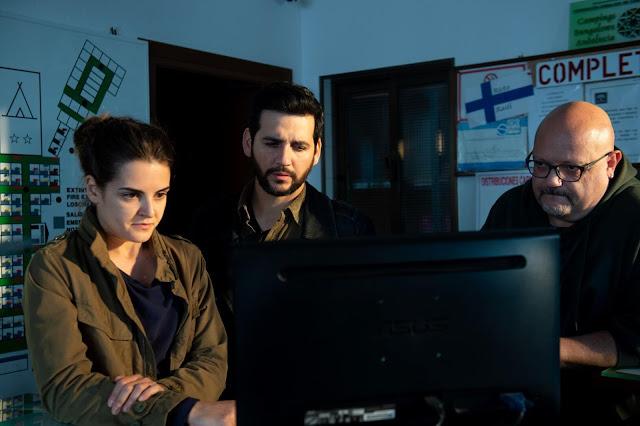 ran Perea y María Romero en 'Kosta'