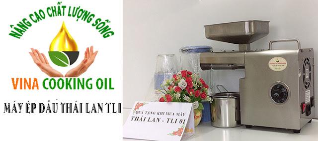 máy ép dầu đa năng thực vật thái lan tli01