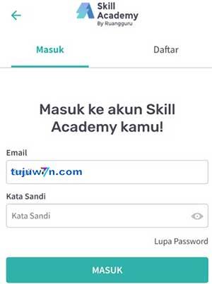 cara beli pelatihan prakerja di skill academy