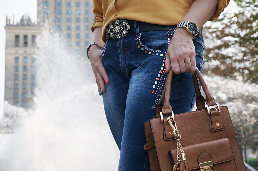 zoio.pl musztardowa koszula moda damska fashion