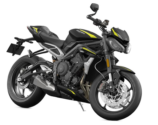 Triumph launch india her BS6 Street triple RS in 11.13lakh price .
